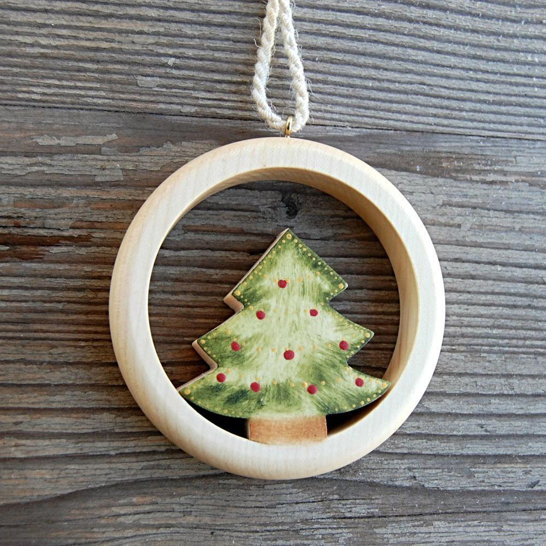 730008AC Round Christmas Tree