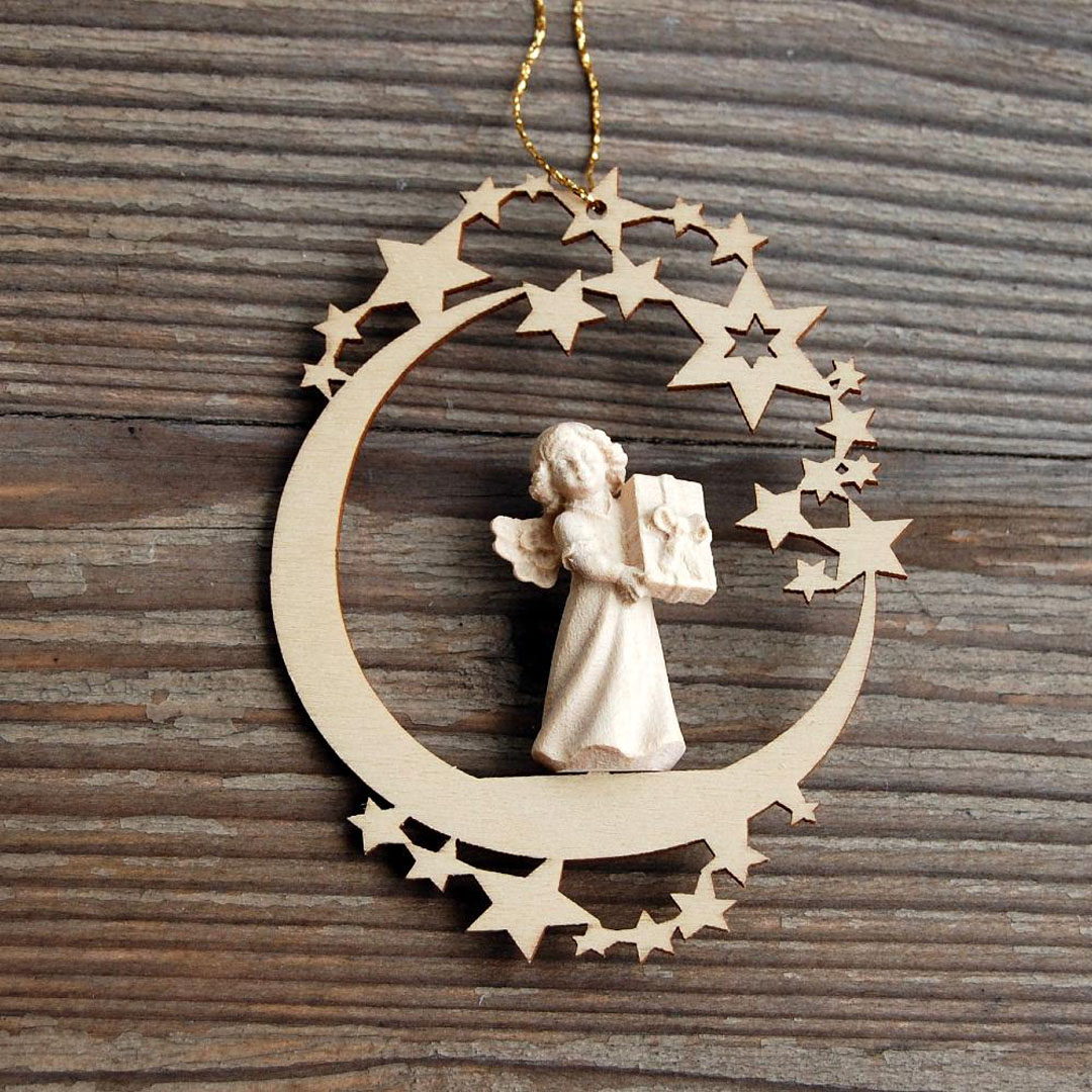 Angel with Gift Ornament