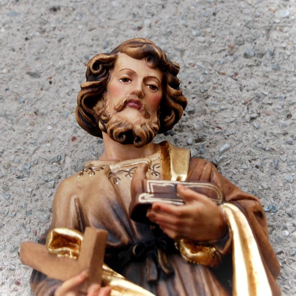 Svaty Jozef Robotnik drevena socha