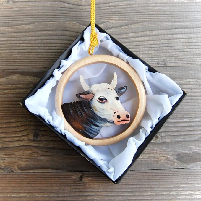 Cow Wall Hanging 1