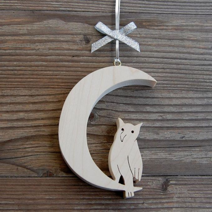 73428AN Moon and Owl