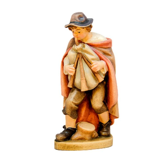 Shepherd with bagpipes and hat 1