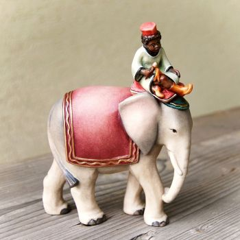 Bellboy with Elephant for wooden African nativity set