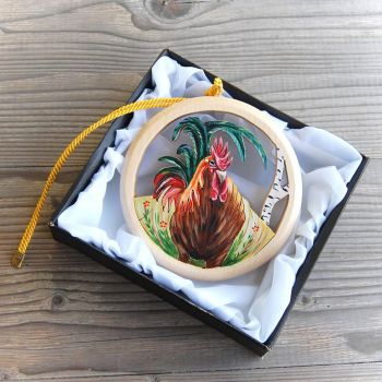 Rooster Picture Wall Decoration 1